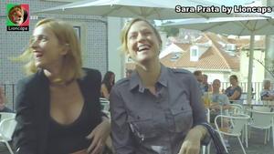 Sara Prata sensual na novela A Prisioneira