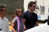 Jennifer Love Hewitt and Jamie Kennedy arriving in Mexico, March 21 6xHQ