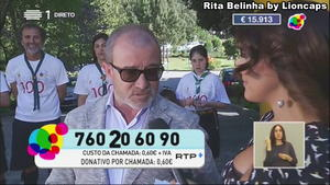 Rita Belinha sensual na Rtp