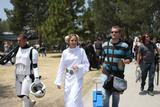 Alison Haislip of G4 Dressed As Princess Leia