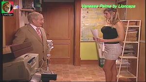 Vanessa Palma sensual na serie Camilo o presidente