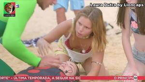 Laura Dutra sensual na novela Nazaré