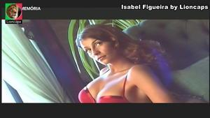 Isabel Figuieira sensual num ensaio fotográfico para a triumph no passado