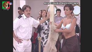 Ana Claudia sensual na serie Maré Alta