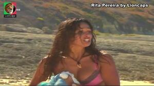 Rita Pereira sensual em vários trabalhos
