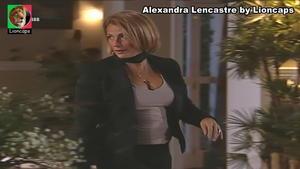 Alexandra Lencastre sensual na novela Meu Amor