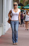 Brooke Hogan - Heading to a salon in Hollywood, April 29, 2010