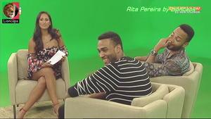 Rita Pereira sensual na Tvi