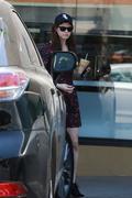 Alexandra Daddario leaving Earth Bar in LA 30th June '15
