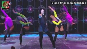 Diana Chaves super sensual no programa Lip Sync
