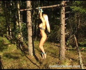 Bdsm extreme crucifiction tube