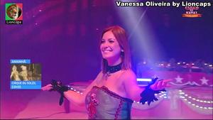 Vanessa Oliveira sensual no Circo da Rtp