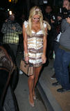 Paris Hilton arrives to celebrate her mother Kathy Hilton's birthday at Dan Tana's in West Hollywood - March 11, 2010 (x9)