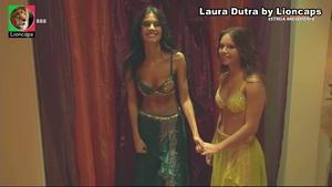 Laura Dutra sensual na novela Valor da Vida