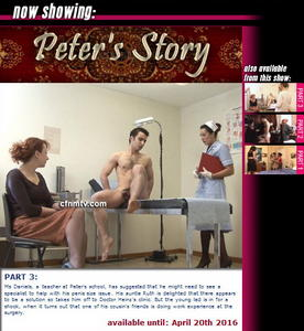 cfnmtv: Peter's Story (Part 1-3)