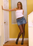 Against. ashton gray pantyhose that would