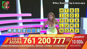 Kika Cardoso sensual no 1000 hora
