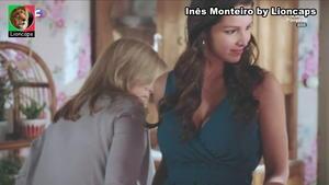 Inês Monteiro sensual na novela Golpe de Sorte