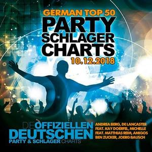 VA - German Top 50 Party Schlager Charts (10.12.2018)