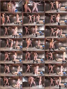 Crotchless Swimsuit Ballbusting 1 Femdom